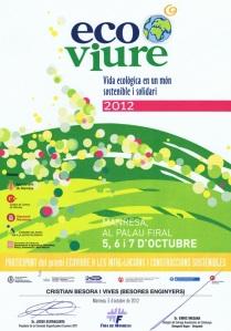 2012. Premis Ecoviure